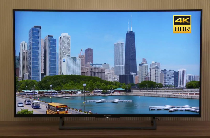 تلویزیون سونی مدل KD-55X8000E Ultra HD 4K 55 Inch Smart LED